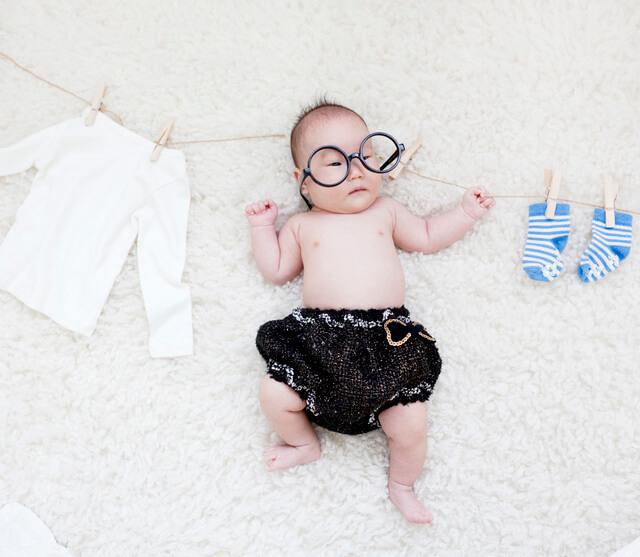ブルマを履いた赤ちゃん,ベビーブルマ,