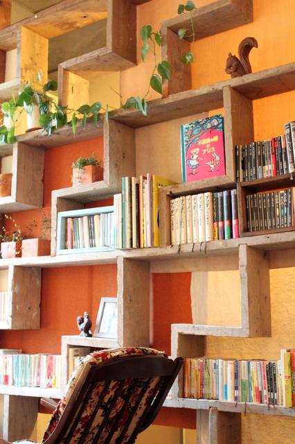 絵本の壁面収納,絵本,収納,