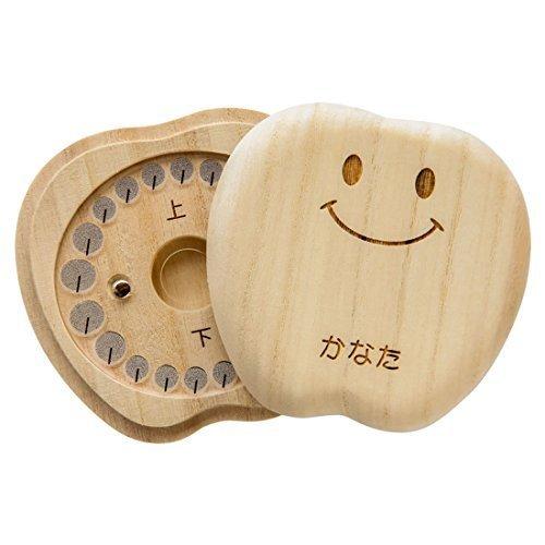 乳歯入れ 乳歯ケース 《ティース君》 桐の乳歯ボックス (スマイルティース君),赤ちゃん ,誕生記念,