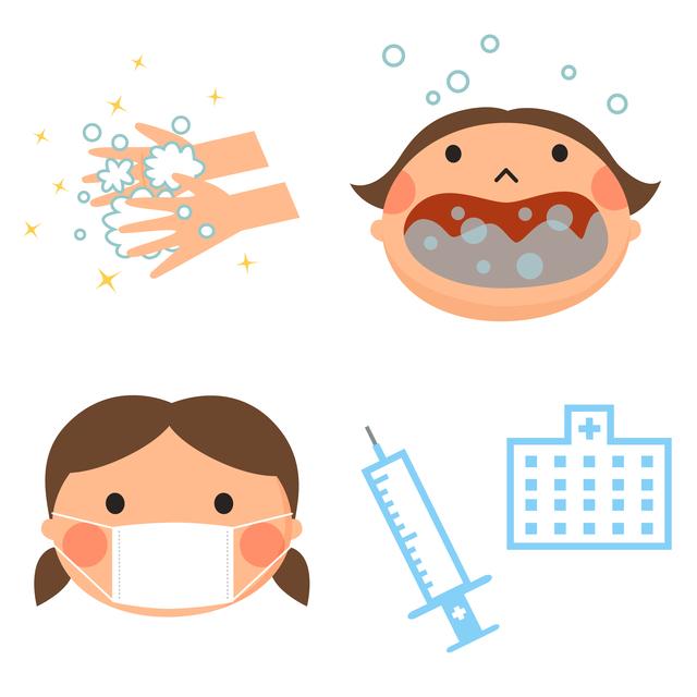 ,インフルエンザ,予防接種,小児科