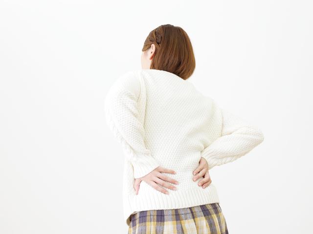 腰痛イメージ,PMS,妊娠,