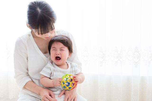 泣く赤ちゃん,産後,7ヶ月,