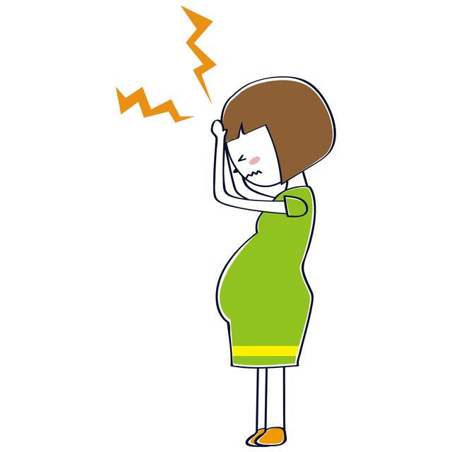 妊婦頭痛,妊娠初期,腹痛,出血