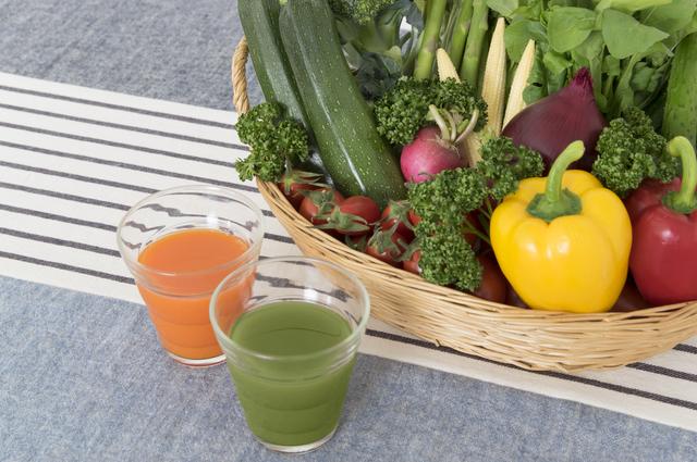 野菜ジュース,妊娠,ニキビ,