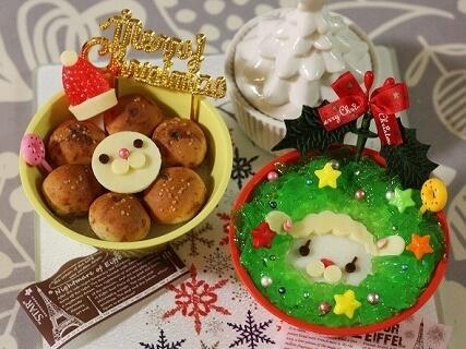 ミスドキャラでクリスマススイーツ,スイーツ,レシピ,
