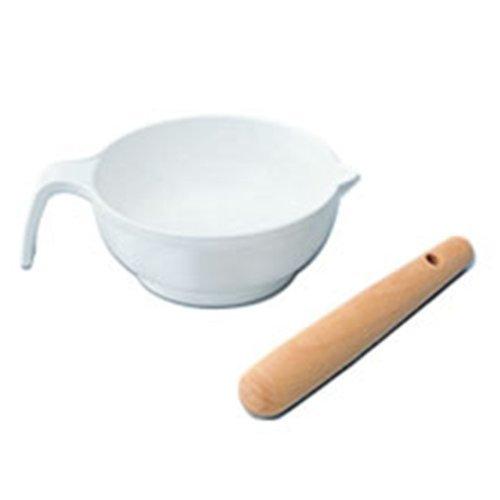 リッチェル Richell 調理用品 すり鉢セット 10.5×14.0×4.5cm 55g,7倍粥,