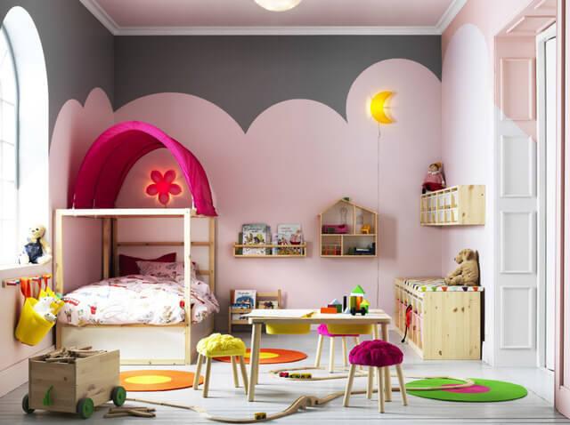 IKEAのキッズギャラリーコーディネート例,おもちゃ,収納,IKEA