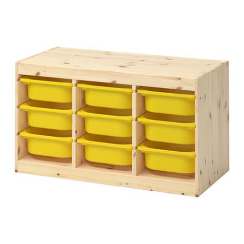 TROFAST 収納コンビネーション,おもちゃ,収納,IKEA