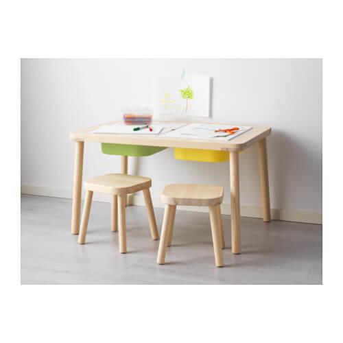 FLISAT 子供用テーブル,おもちゃ,収納,IKEA