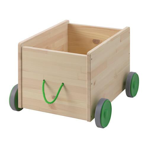 FLISAT おもちゃ収納 キャスター付き,おもちゃ,収納,IKEA