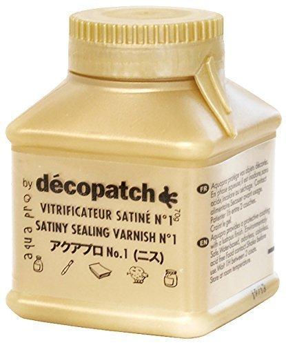 デコパージュ液 デコパッチ アクアプロ ニス 70ml dp-va70,手作り,スタイ,デコパージュ