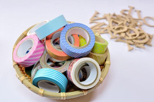 マスキングテープ,手作り,おもちゃ,工作