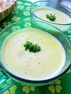 かぼちゃの冷製豆乳ポタージュ,離乳食,ミキサー,