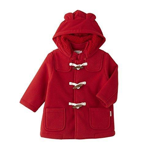 ミキハウス ホットビスケッツ (MIKIHOUSE HOT BISCUITS) ダッフルコート 73-3801-787 110cm 赤,子供服,コート,