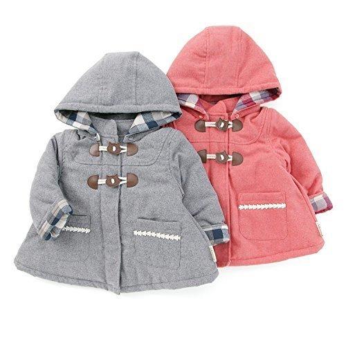 Biquette Club (ビケットクラブ ) ダッフルコート (80~130cm) キムラタンの子供服 (10424-174) ライトグレー 110,子供服,コート,