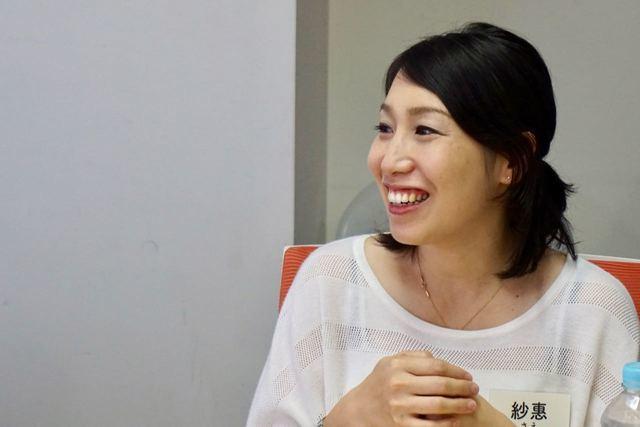 紗惠さん(妊娠4ヵ月),妊娠線予防クリーム,