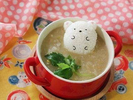 しろくまおにぎり雑炊,七草粥,レシピ,