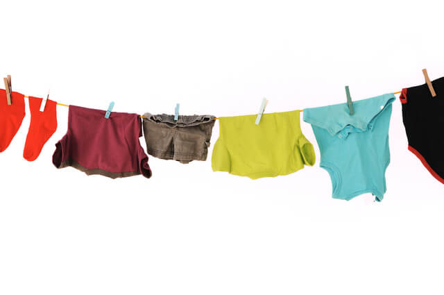洗濯物,4月,出産,