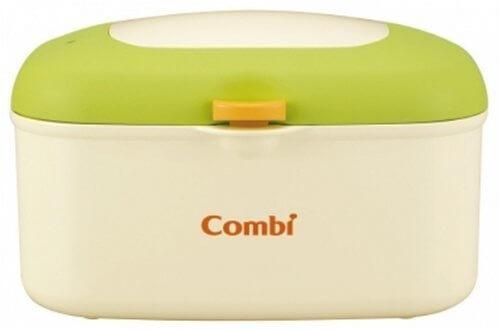 コンビ Combi おしり拭きあたため器 クイックウォーマー HU フレッシュ グリーン 上から温めるトップウォーマーシステム,赤ちゃん,おむつかぶれ,対策