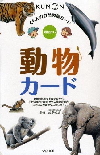 動物カード (くもんの自然図鑑カード),くもん,カード,