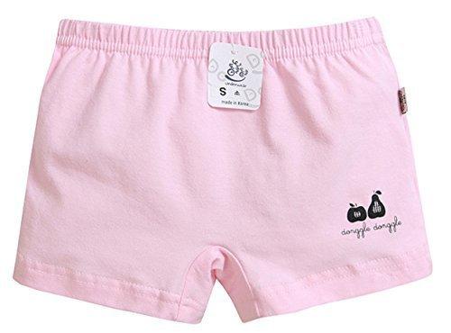 【あるこんたるこん】 キッズ パンツ アップルガール 女の子 トランクス ボクサー ピンク (M(120/130相当)),小学校,パンツ,