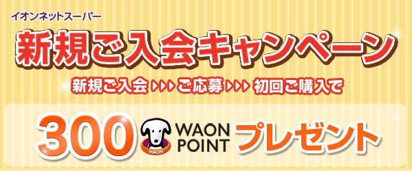 イオンネットスーパー新規ご入会キャンペーン,