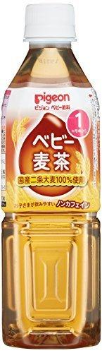 【ケース販売】ピジョン ベビー麦茶 500ml,ベビー麦茶,