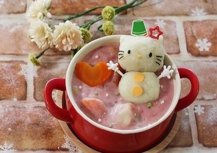 キティちゃんの雪だるまシチュー,カレー,シチュー,