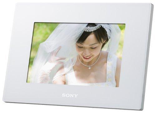 ソニー SONY デジタルフォトフレーム S-Frame D720 7.0型 内蔵メモリー2GB ホワイト DPF-D720/W,祖父母,プレゼント,