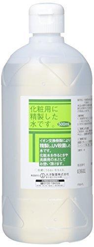 化粧用 精製水 HG 500ml,手作り,スノードーム,