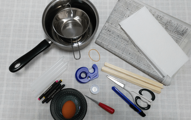 卵型キャンドル 材料,手作り,キャンドル,
