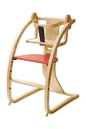 Sdi Fantasia Bambini+baby set 赤 STC-02 赤ちゃんも子供も大人も使えるいす 日本製,離乳食,椅子,