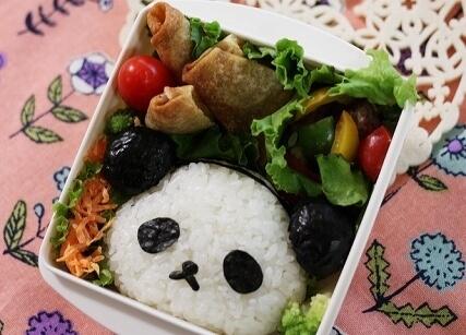 おじぱんのお弁当,パンダ,弁当,