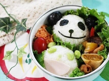 生茶パンダのお弁当,パンダ,弁当,