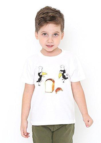 (グラニフ)graniph コラボレーションキッズ Tシャツ / からすのパンやさん ( かこさとし ) ( ホワイト ) 100,かこさとし ,Tシャツ,からすのパンやさん