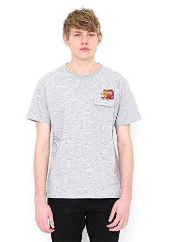 (グラニフ)graniph コラボレーションTシャツ / だるまちゃんエンブロイダリー ( かこさとしショートスリーブティー ) ( ヘザーグレー ) S,かこさとし ,Tシャツ,からすのパンやさん