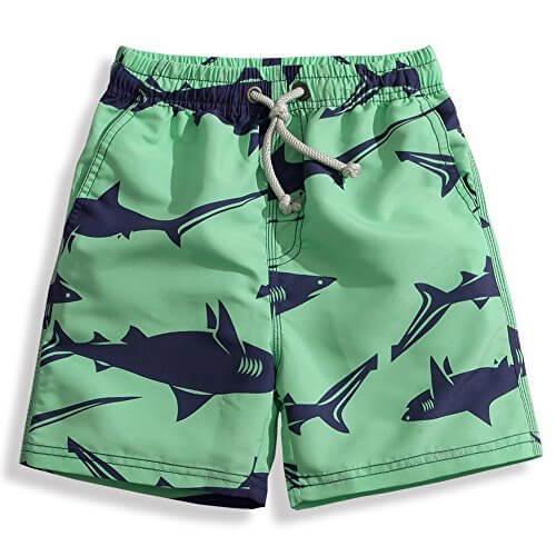 水着 キッズ 子供 男の子 サーフパンツ 海パン ボートショーツ ls17010 L/130 サメ柄,幼稚園,水着,選び方