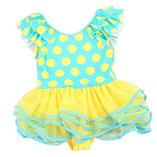 (ココイチヤ) COCO1YA 女の子 水着 子供 ワンピース キッズ 水着 子供 みずぎ ガールズ (L, ブルー),幼稚園,水着,選び方