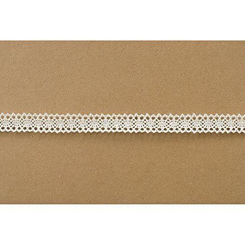コットンリボン レース-2 アイボリー 13mm幅×10m巻 RO-LR2,手作り,ポーチ,