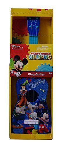 [ディズニー]Disney Junior ~ Mickey Mouse Clubhouse ~ Blue Play Guitar LYSB00NG3FQL6-TOYS [並行輸入品],ギター,おもちゃ,