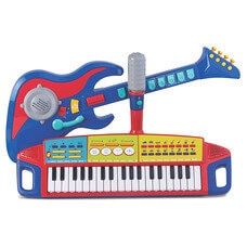 トイザらス ブルーイン マイファースト ロックバンドセット,ギター,おもちゃ,
