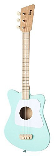 Loog ルーグ Loog mini アコースティック・ギター(エメラルド・グリーン),ギター,おもちゃ,