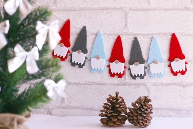 クリスマス ガーランド,手作り ,ガーランド,