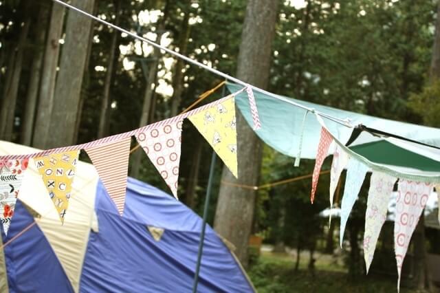 キャンプ テント ガーランド フラッグガーランド,手作り ,ガーランド,