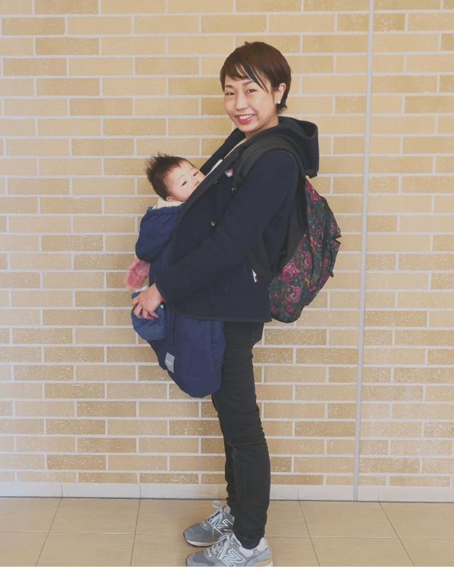 進藤さん親子,赤ちゃん,おでかけ,