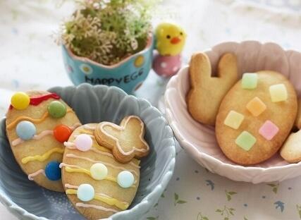 イースターエッグのクッキーアレンジ,イースターエッグ,