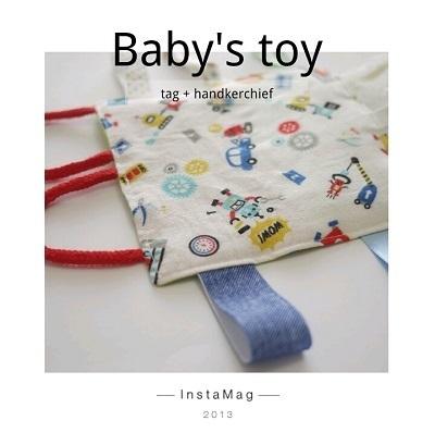ハンカチ,赤ちゃん ,タグ,おもちゃ