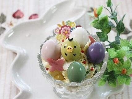 うずら卵のイースターエッグ,イースターエッグ,