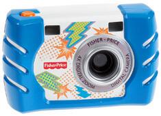 フィッシャープライス キッズ・タフ・デジタルカメラ スリム ブルー (W1459),おもちゃ,カメラ,