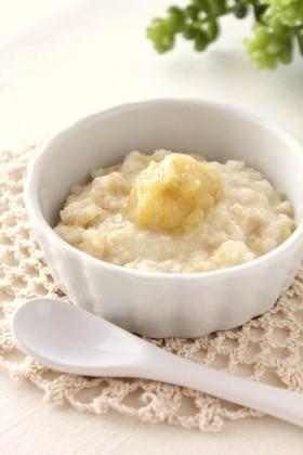 離乳食❤中期*バナナミルクパン粥,生後9ヶ月,離乳食,